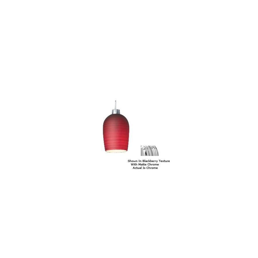 Bruck Lighting Systems Chrome Bell Linear Track Lighting Pendant