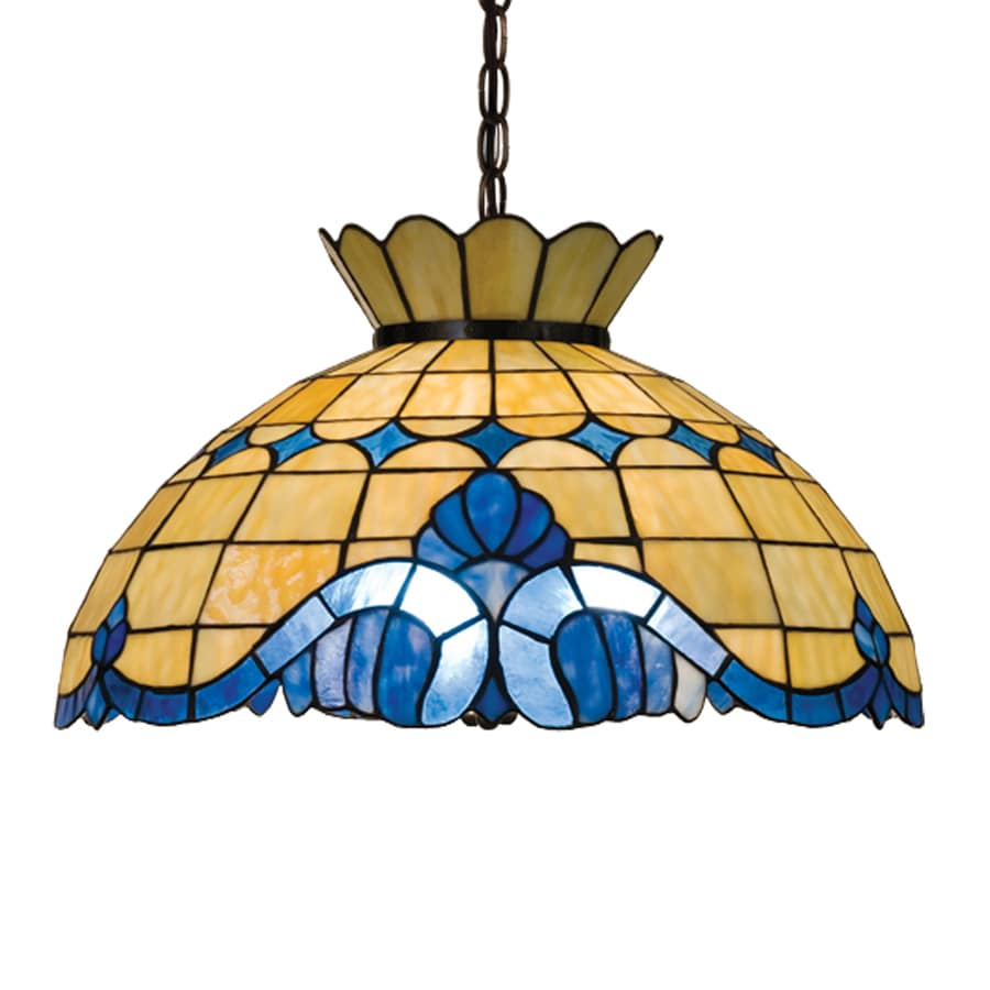 deco leaded pendant lamp glass floor light fixtures tiffany style stained barn chandelier