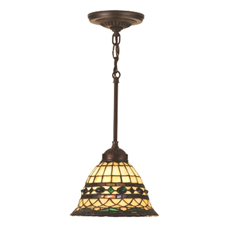 Ceiling Lights Not Hardwired : Meyda tiffany roman in mahogany bronze
