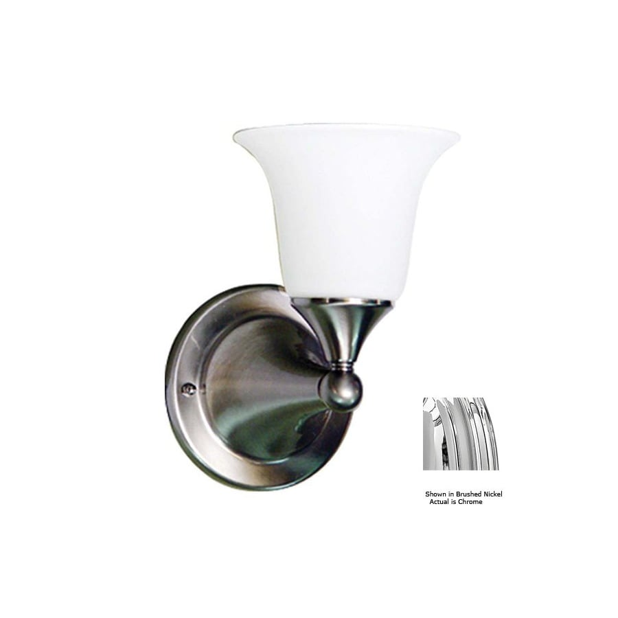 Volume International 6-in W 1-Light Chrome Arm Wall Sconce