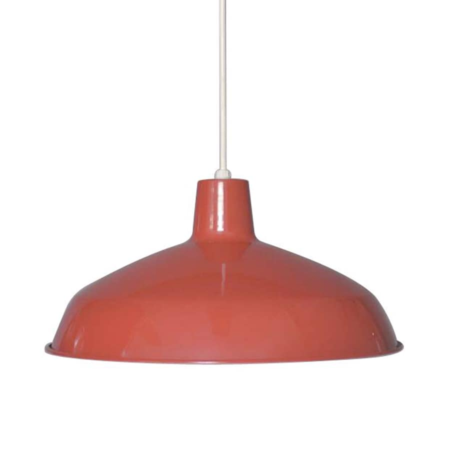 Volume international red modern warehouse pendant
