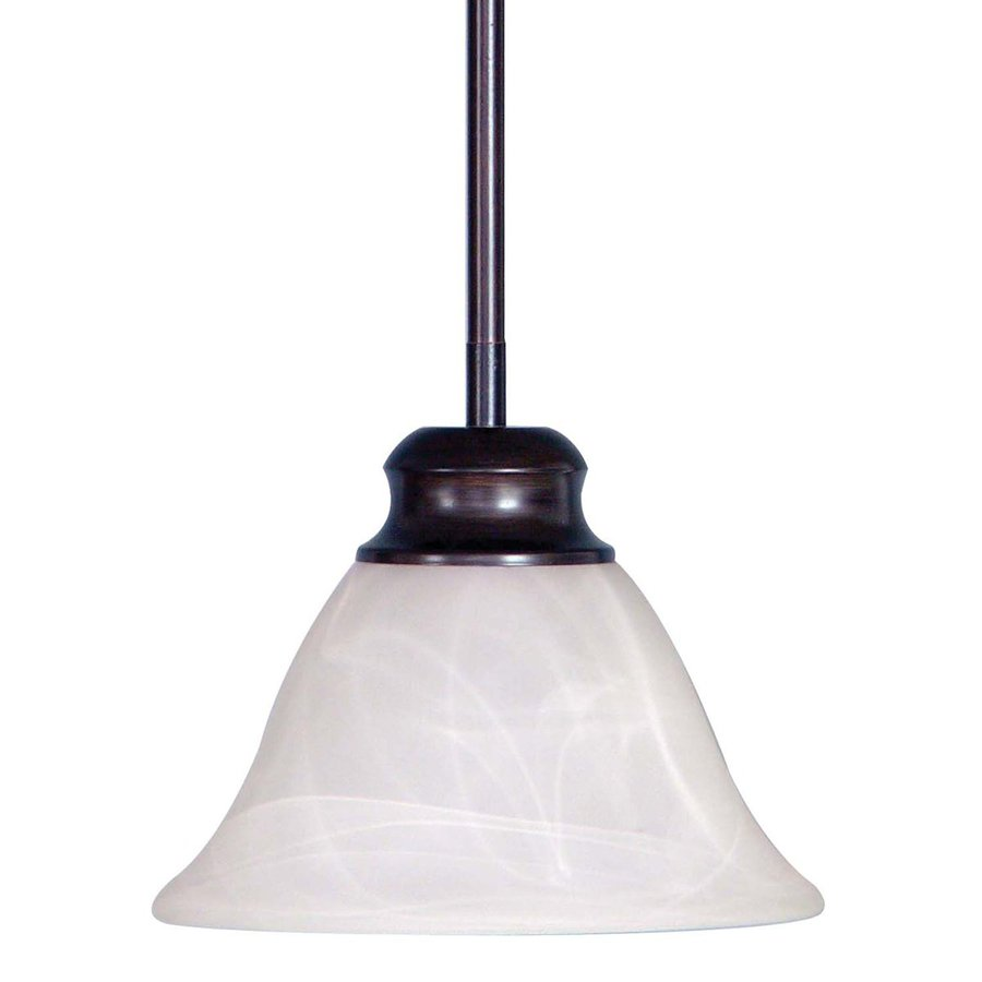 Mini Pendant Light Downrod : Volume international troy in antique bronze country