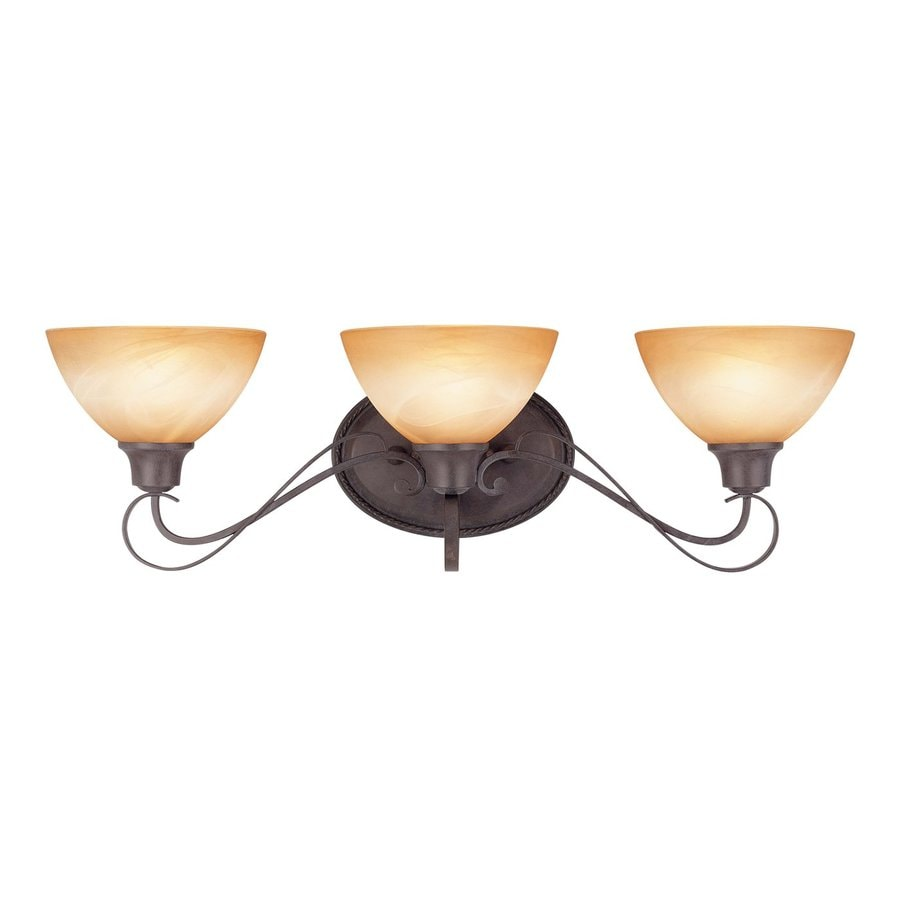Volume International Altamonte 3-Light Frontier Iron Vanity Light