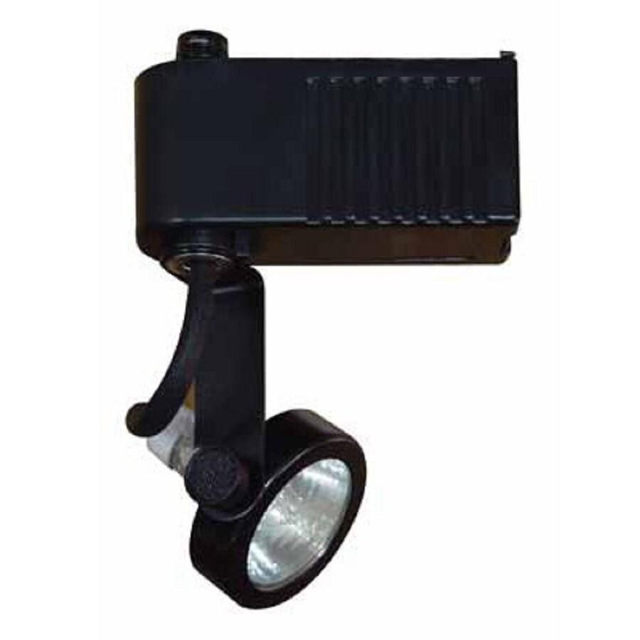 Volume International 1-Light Black Gimbal Linear Track Lighting Head