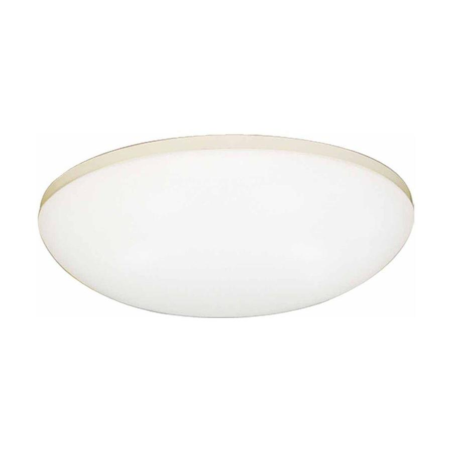 Volume International 18-in W 1-Light White Pocket Hardwired Wall Sconce