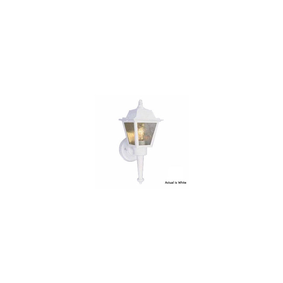 Volume International 13-3/4-in White Outdoor Wall Light