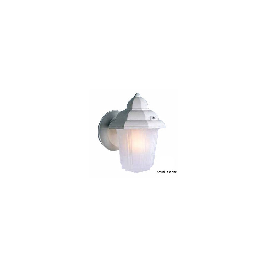 Volume International 8-3/4-in White Outdoor Wall Light