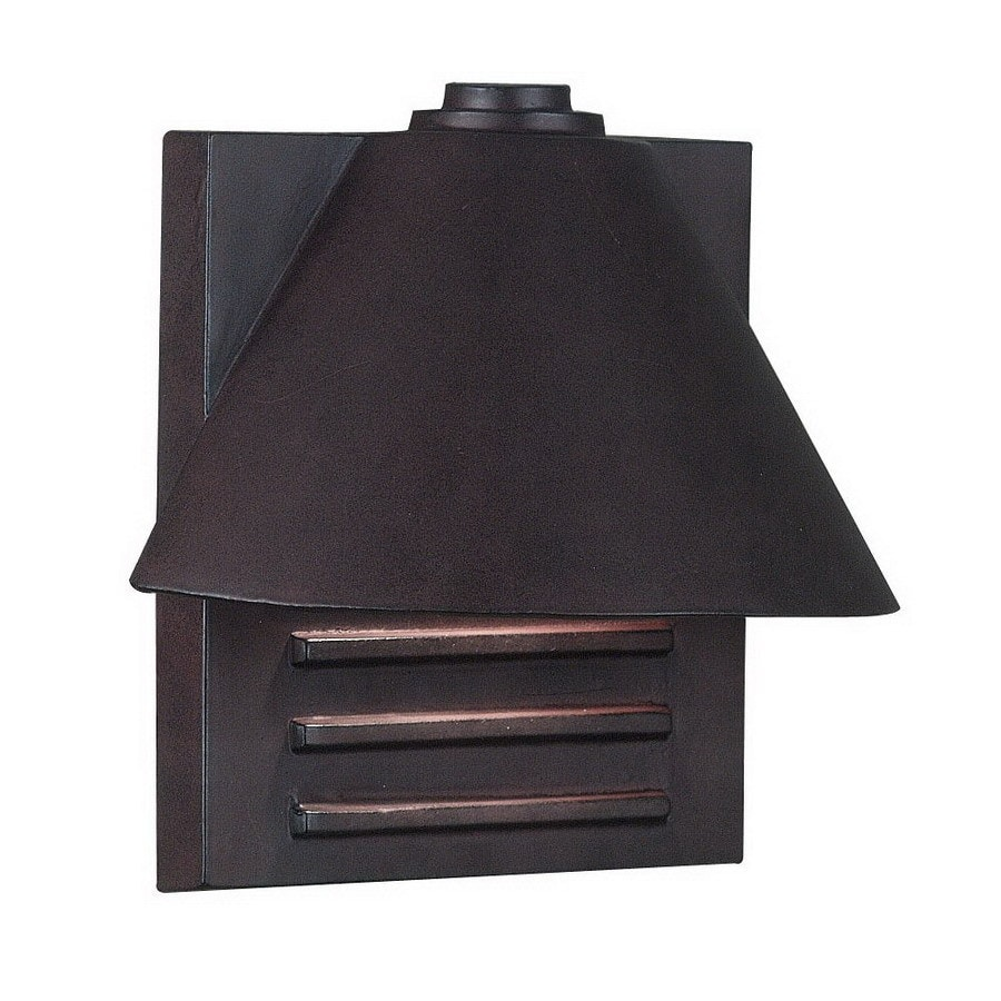 Kenroy Home Fairbanks 10-in W 1-Light Copper Pocket Wall Sconce