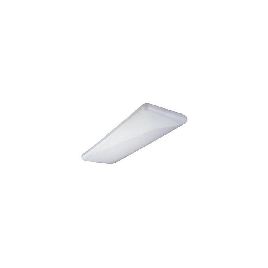Nicor Lighting 17-in W White Ceiling Flush Mount