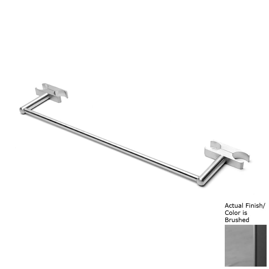 Amba Sirio Brushed Single Towel Bar (Common: 14-in; Actual: 14-in)