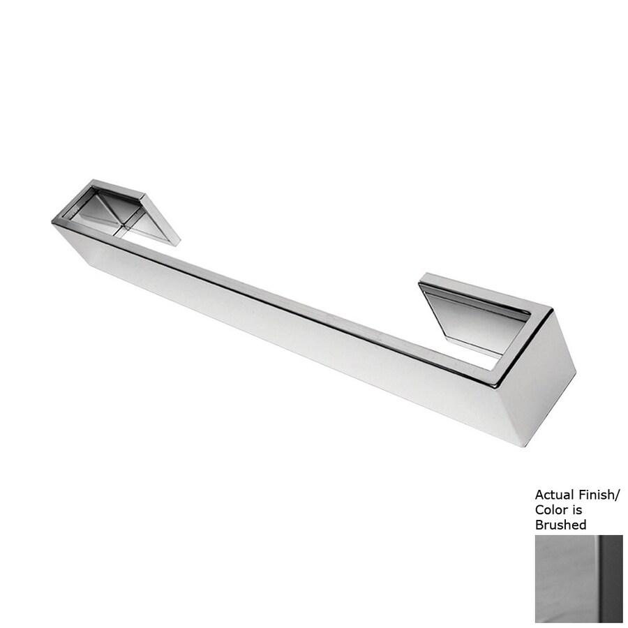 Amba Vega Brushed Single Towel Bar (Common: 18-in; Actual: 18-in)