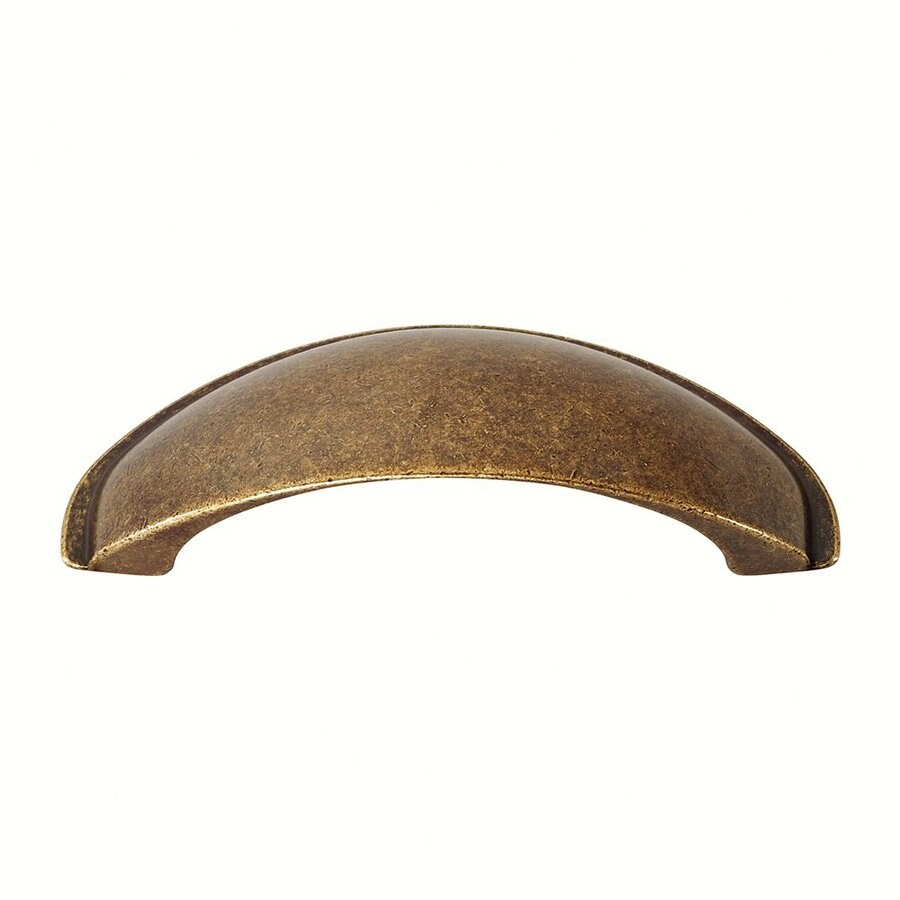 Siro Designs 2-1/2-in Center-To-Center Antique Coppertone Brass Lancaster Arched Cabinet Pull