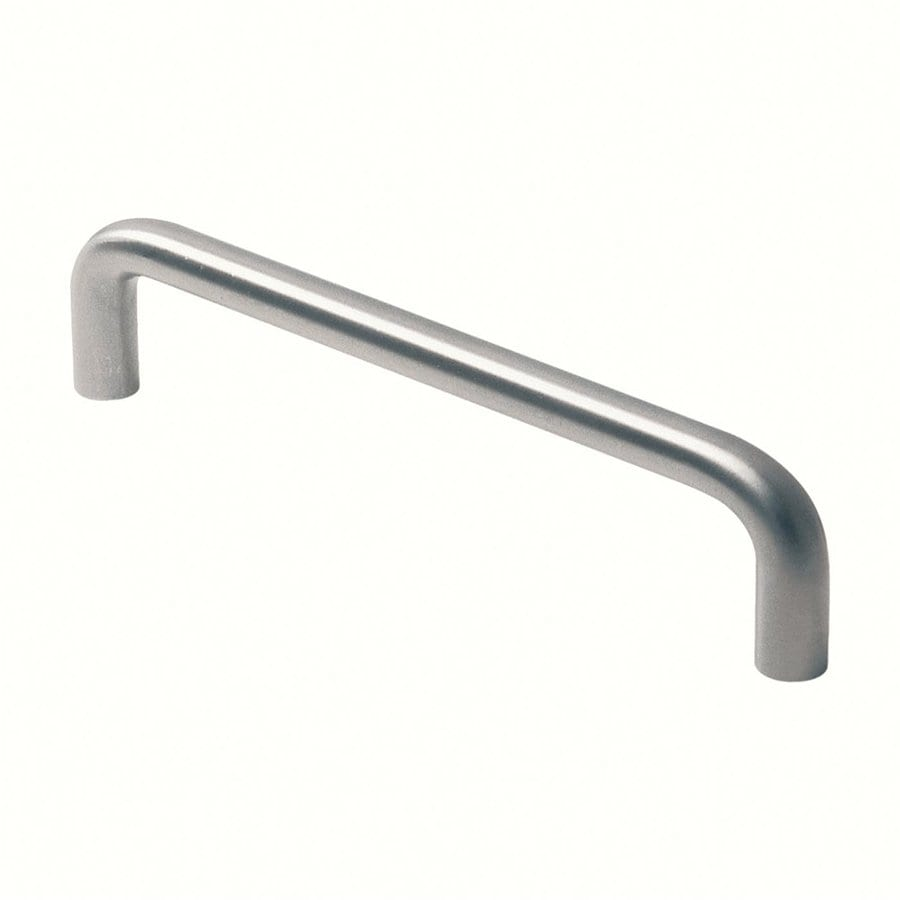 Siro Designs 224Mm Center-To-Center Fine-Brushed Stainless-Steel Rectangular Cabinet Pull