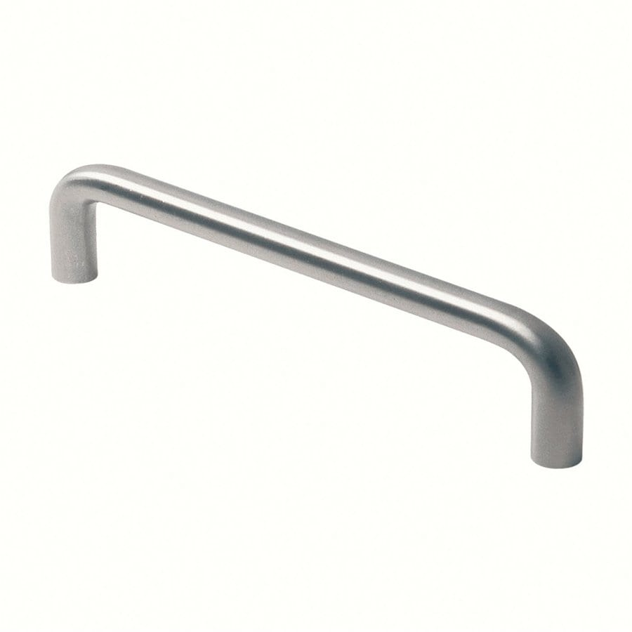 Siro Designs 320Mm Center-To-Center Fine-Brushed Stainless-Steel Rectangular Cabinet Pull