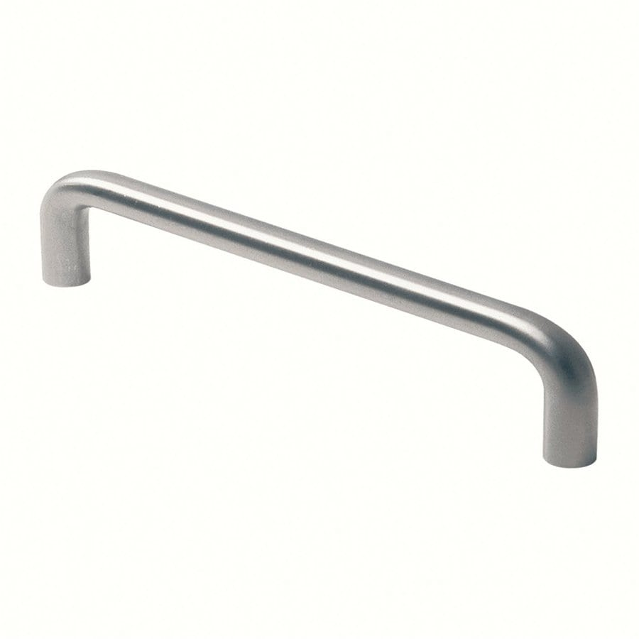 Siro Designs 416Mm Center-To-Center Fine-Brushed Stainless-Steel Rectangular Cabinet Pull