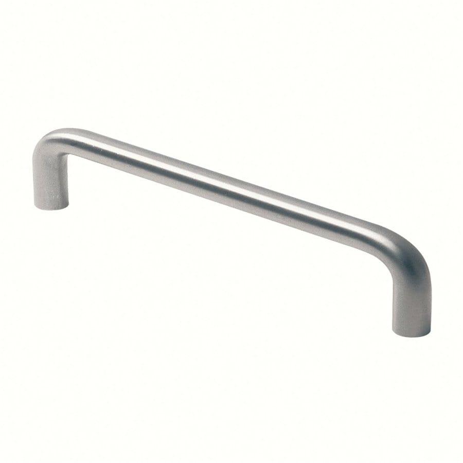 Siro Designs Fine-Brushed Stainless-Steel Rectangular Cabinet Pull