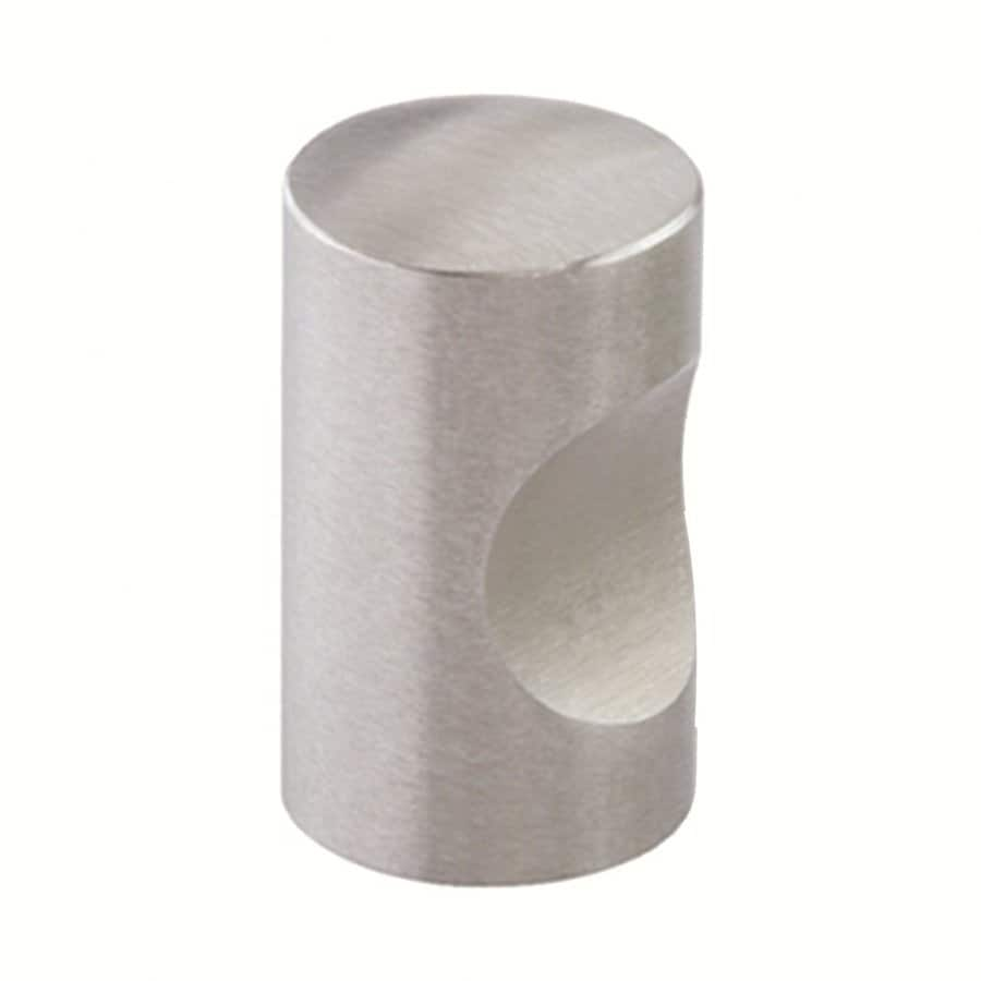 Siro Designs Polished Stainless Steel Round Cabinet Knob