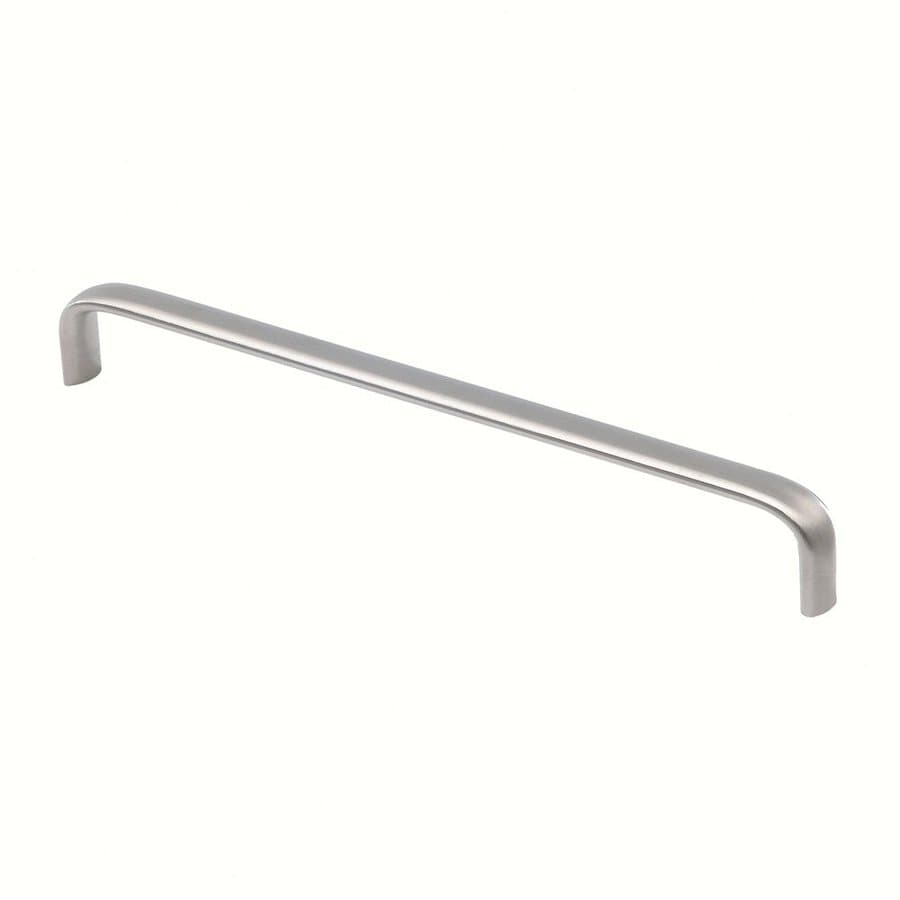 Siro Designs 288Mm Center-To-Center Fine-Brushed Stainless-Steel Rectangular Cabinet Pull