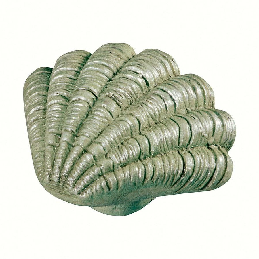 Siro Designs Caribe Pearlized Green Novelty Cabinet Knob