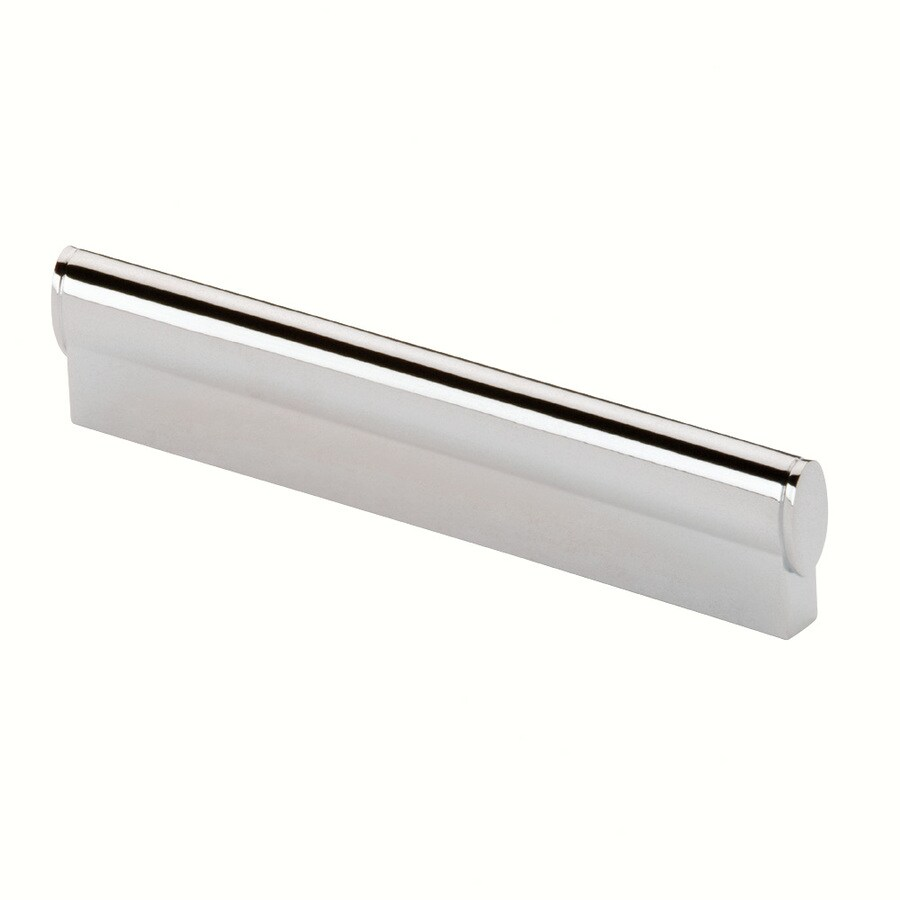 Siro Designs 160Mm Center-To-Center Bright Chrome Belina Rectangular Cabinet Pull