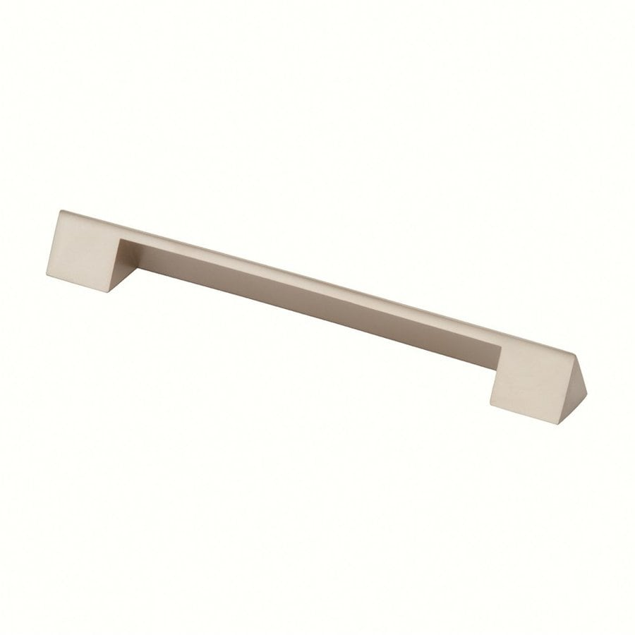 Siro Designs 160Mm Center-To-Center Matte Nickel Belina Rectangular Cabinet Pull