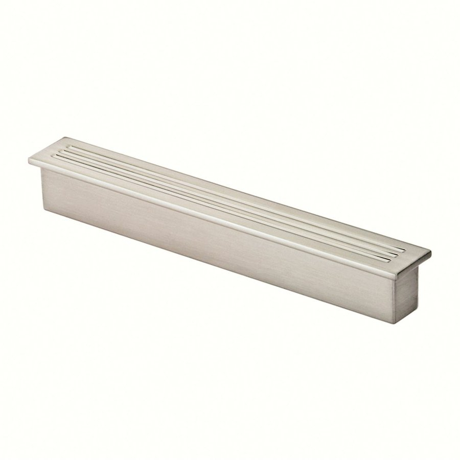 Siro Designs 3-3/4-in Center-To-Center Matte Aluminum Belina Rectangular Cabinet Pull