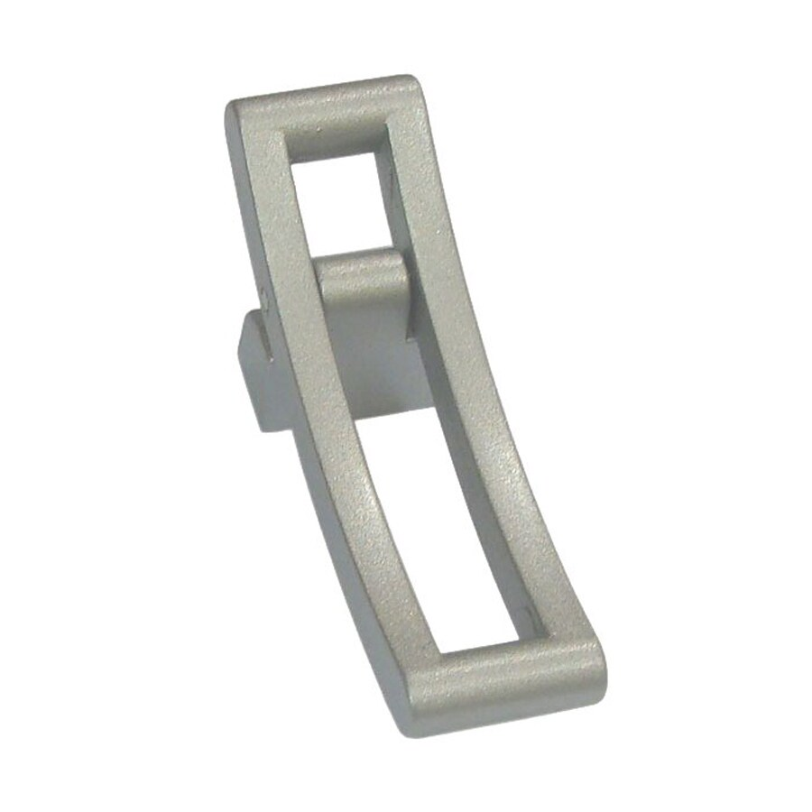 Shop Siro Designs Matte Aluminum Belina Rectangular Cabinet Pull ...