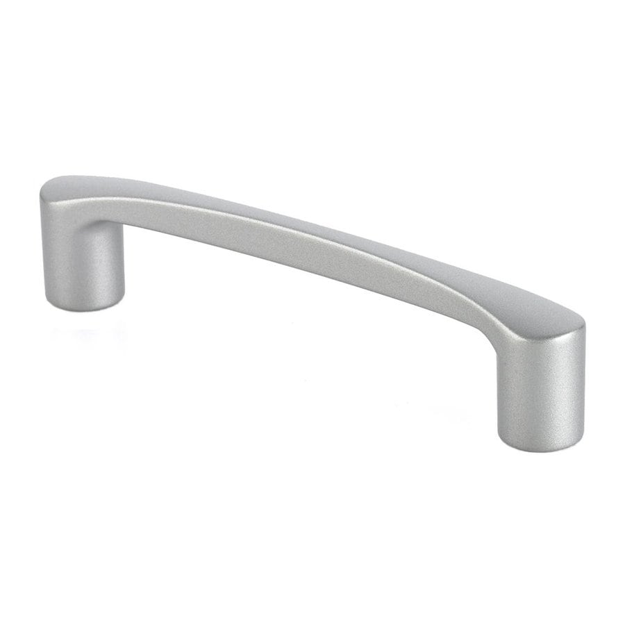 Siro Designs 5-in Center-To-Center Matte Aluminum Italian Line Bar Cabinet Pull