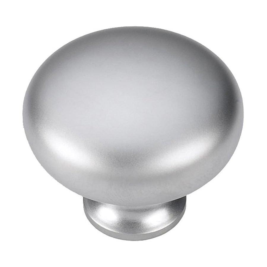 Siro Designs Pennysavers Matte Chrome Round Cabinet Knob