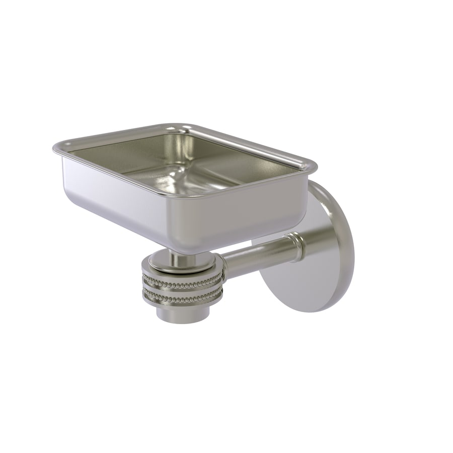 Allied Brass Satellite Orbit One Satin Nickel Brass Soap Dish