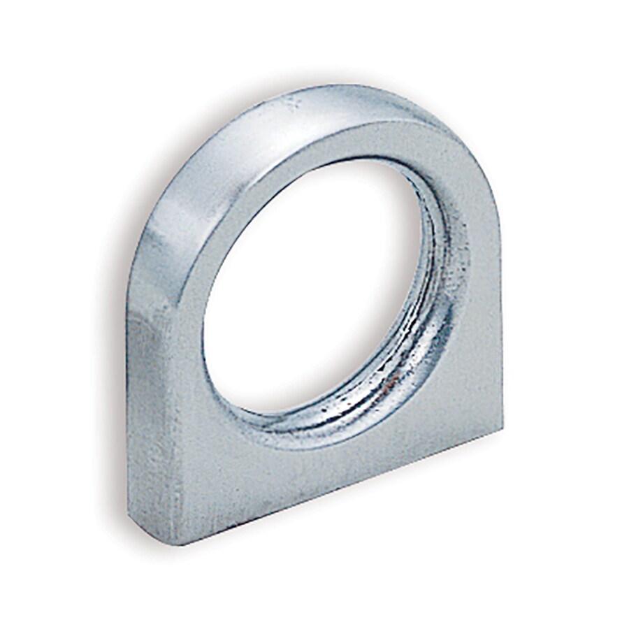 Sugatsune 3/4-in Center-To-Center Satin Ring Cabinet Pull