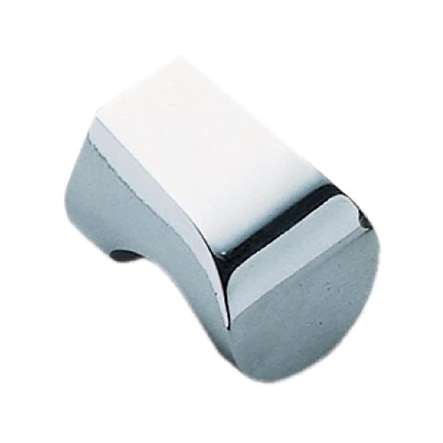 Sugatsune Modern Hook Chrome Rectangular Cabinet Knob