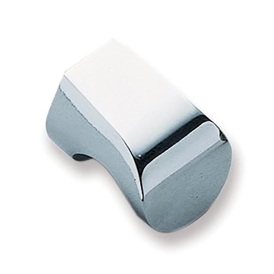 Sugatsune Hook Chrome Rectangular Cabinet Knob