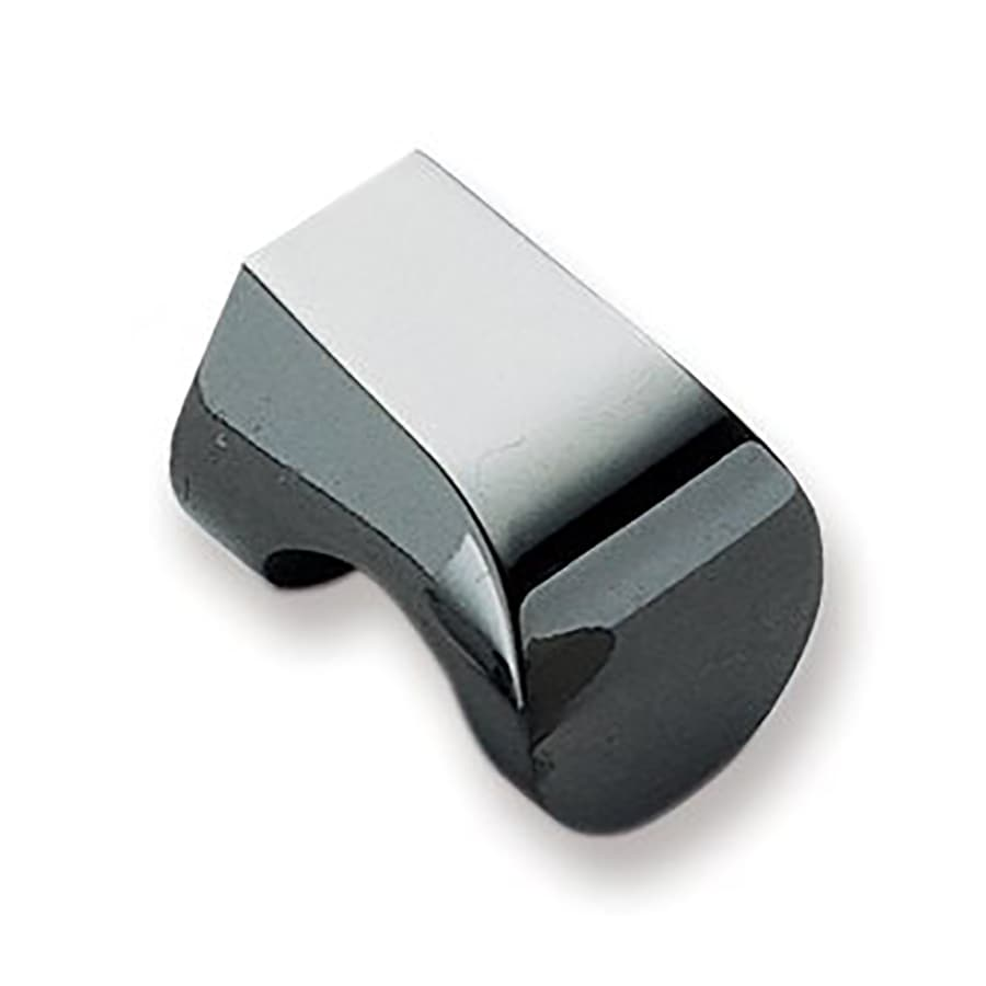 Sugatsune Modern Hook Smoke Rectangular Cabinet Knob