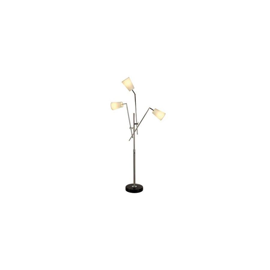 Shop Trend Lighting In Polished Chrome MultiHead Indoor Floor - Multi light floor lamp