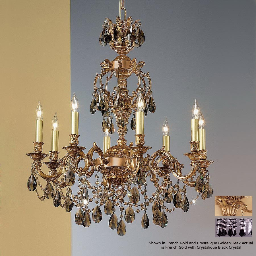 Shop classic lighting 8 light chateau imperial french gold classic lighting 8 light chateau imperial french gold chandelier arubaitofo Gallery