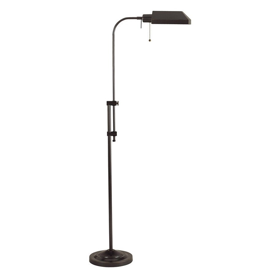 Cal Lighting 42-in Dark Bronze Indoor Floor Lamp with Metal Shade