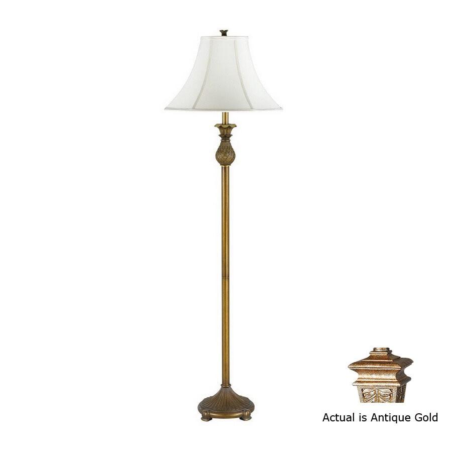 Cal Lighting 60-in Antique Gold Torchiere Indoor Floor ...