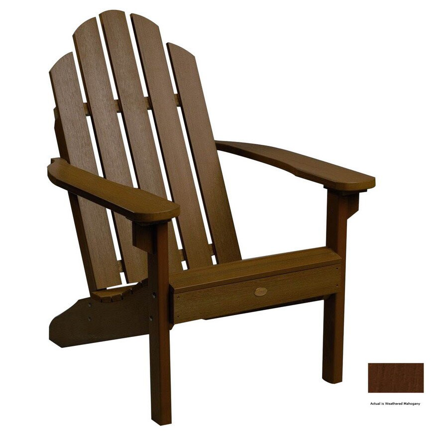 Highwood Usa Weathered Mahogany Adirondack Chair