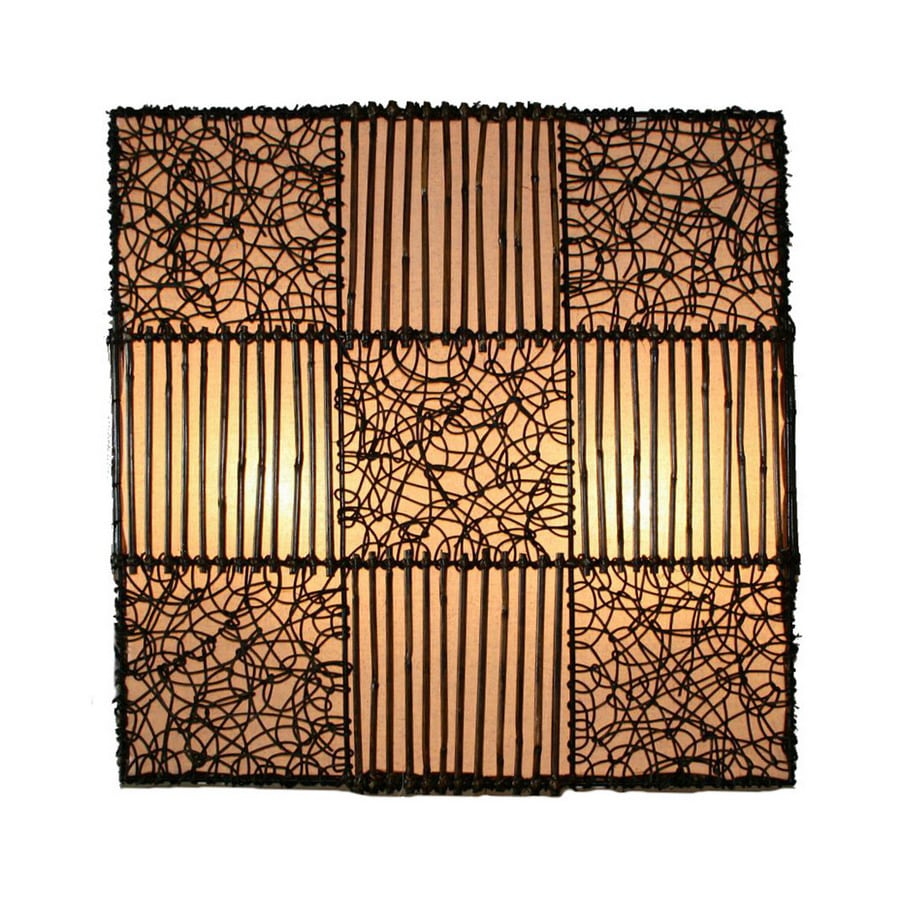 Shop House of Asia Imports 24-in W Voda 4-Light Pocket Wall Sconce ...