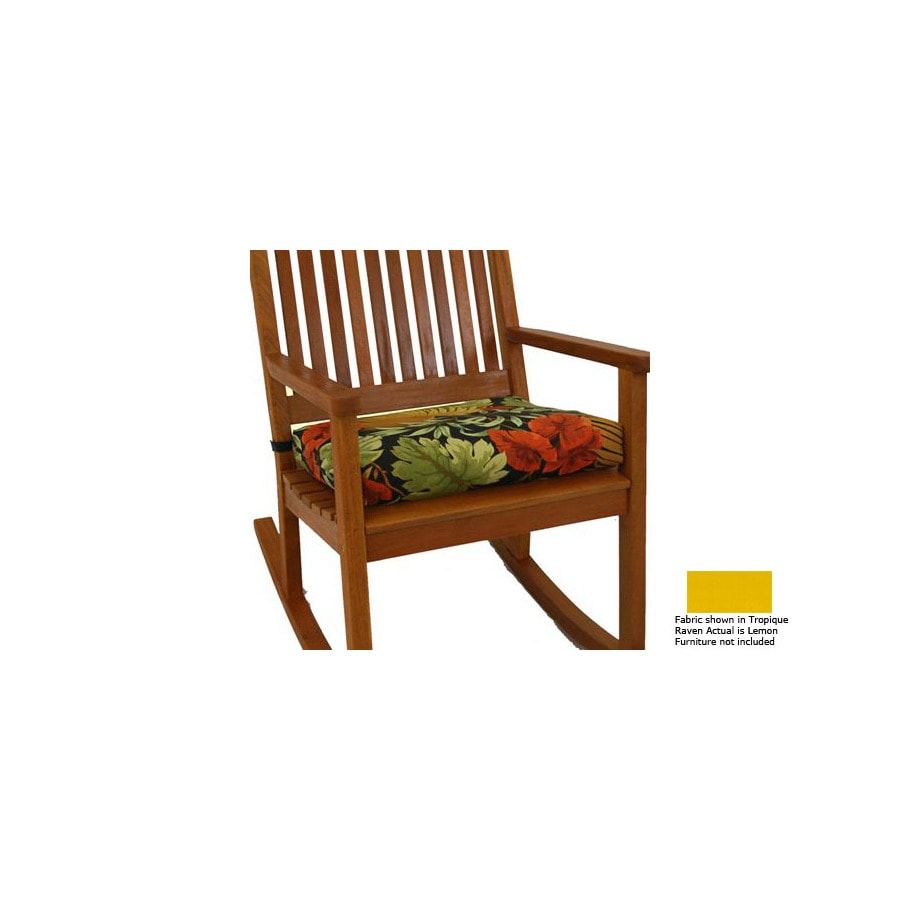 Blazing Needles Solid Cushion for Rocking Chair
