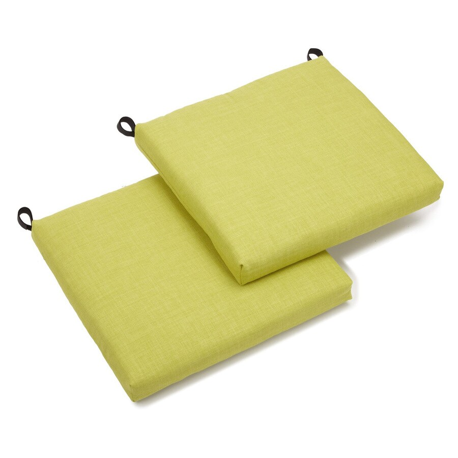 Blazing Needles Lime Solid Cushion for Bistro Chairs