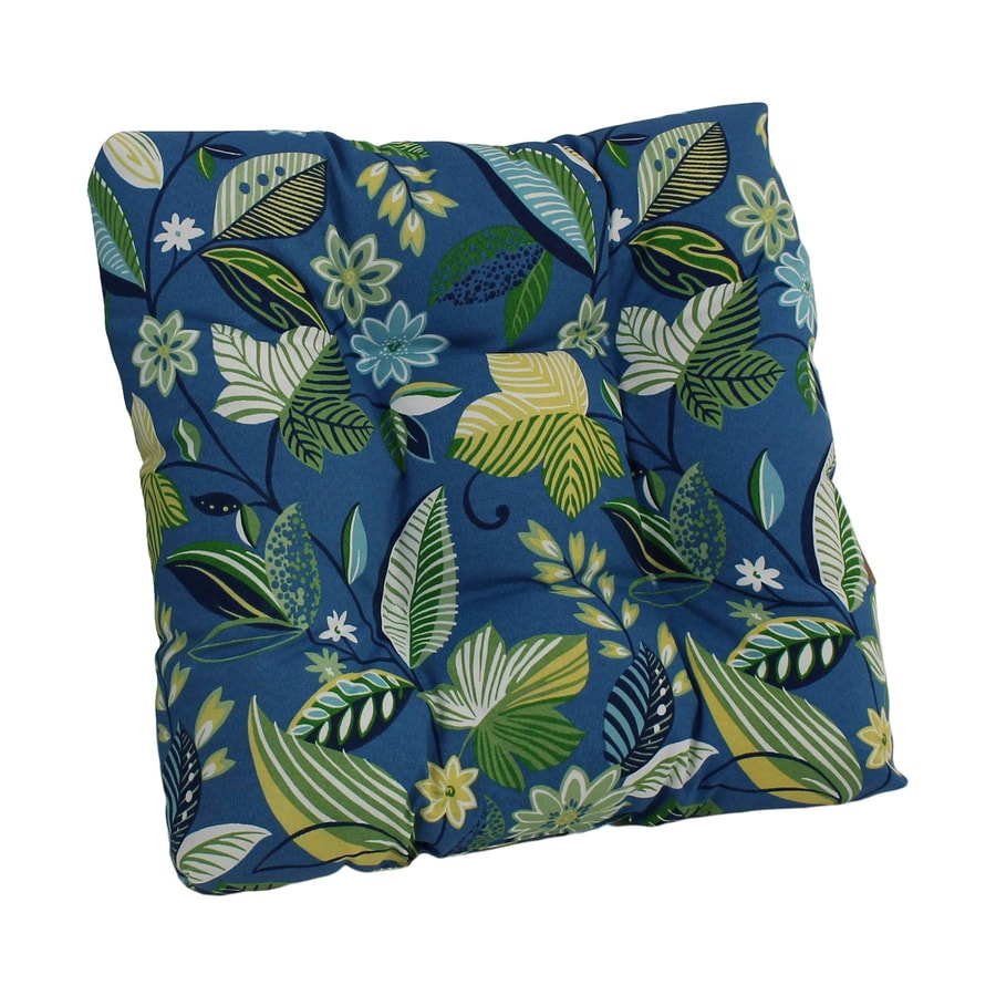 Blazing Needles Skyworks Caribbean Floral Cushion for Rocking Chairs