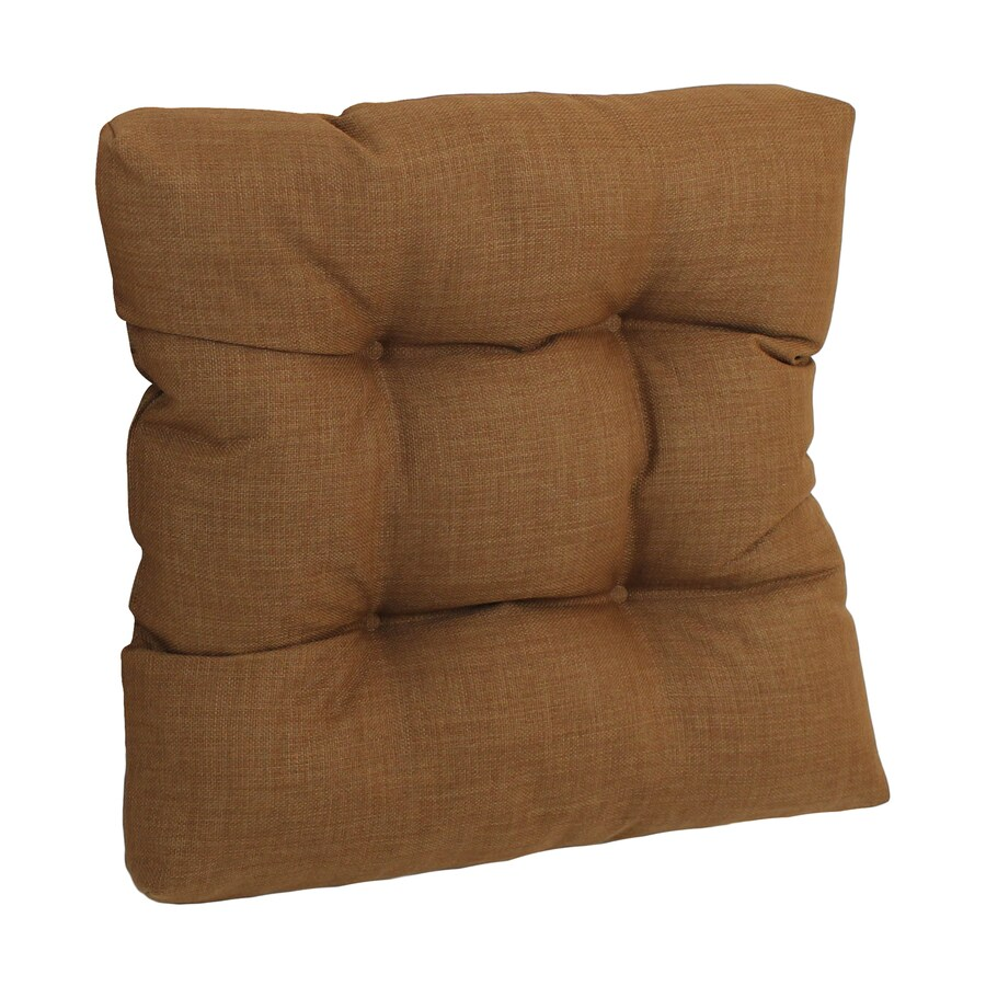 Blazing Needles Mocha Solid Cushion for Rocking Chairs