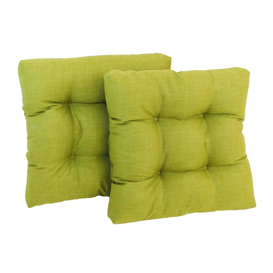 Blazing Needles Lime Solid Standard Patio Chair Cushion for Rocking Chair