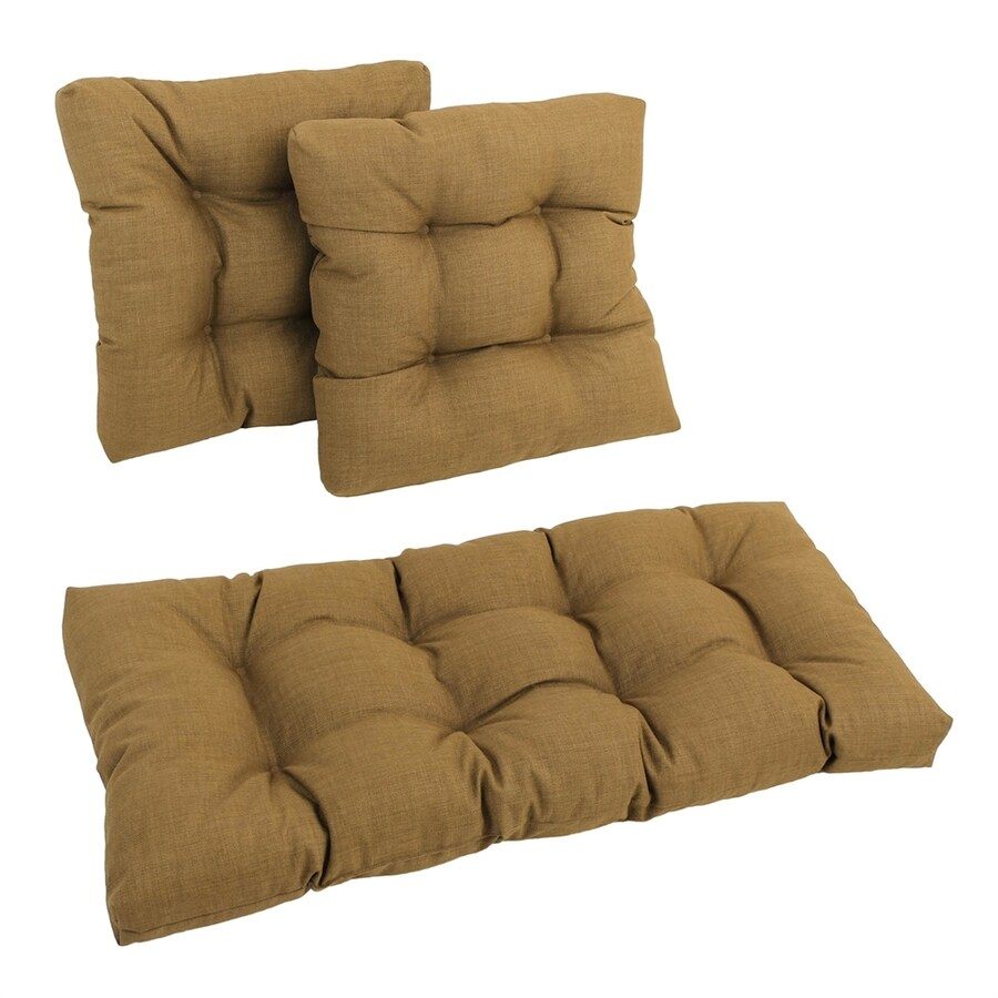 Blazing Needles Wheat Solid Cushion for Universal Use