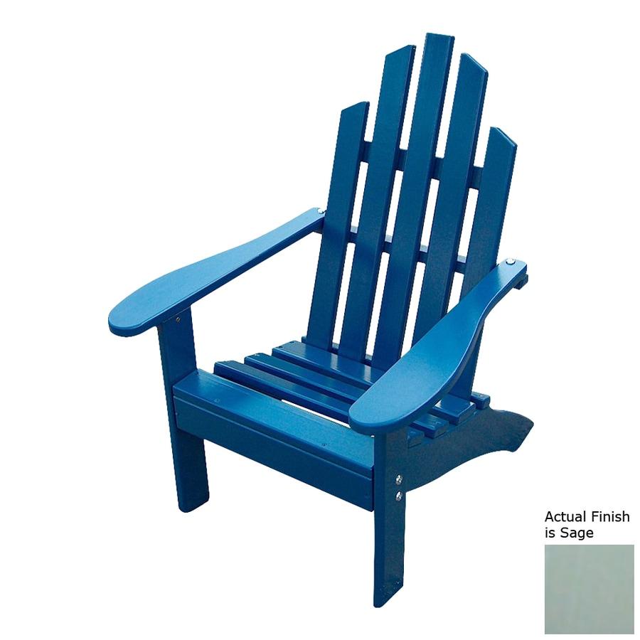 Prairie Leisure Design Sage Pine Patio Adirondack Chair