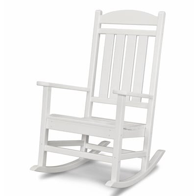 Tremendous Presidential Plastic Rocking Chair With Slat Seat Ocoug Best Dining Table And Chair Ideas Images Ocougorg