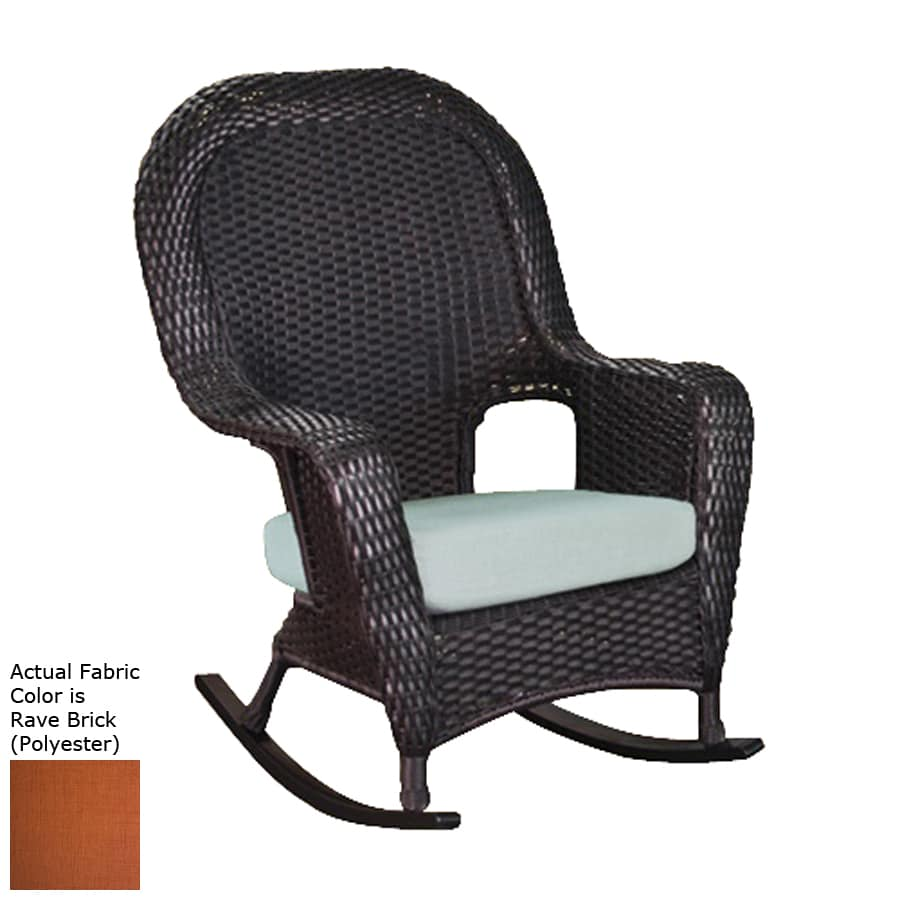 Shop Tortuga Outdoor Lexington Mojave Wicker Patio Rocking Chair At