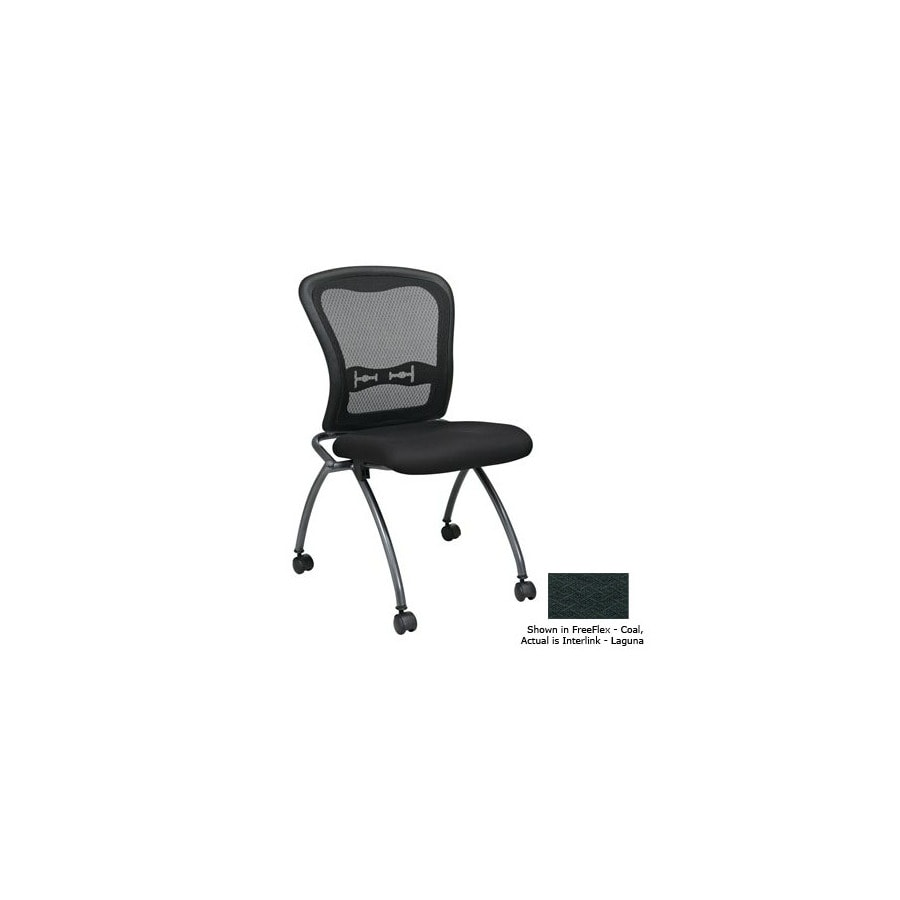 Office Star Set of 2 Proline II Interlink Laguna Task Folding Office Chairs